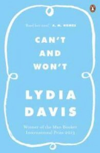 Lydia Davies - Can't and Won't